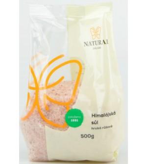 NATURAL JIHLAVA Himalájská sůl růžová hrubá 500 g