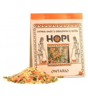 Hopi Směs z obilovin a rýže Ontario 130 g