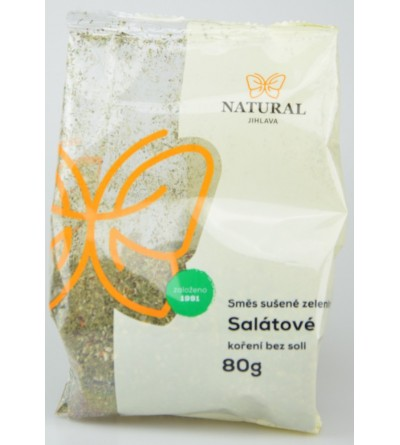 NATURAL JIHLAVA Salátové koření bez soli 100 g