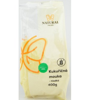 NATURAL JIHLAVA Kukuřičná mouka hladká 400 g