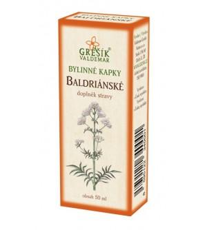 Grešík kapky Baldrianske 50 ml