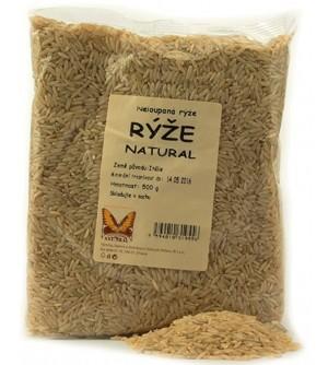 NATURAL JIHLAVA Rýže 500 g