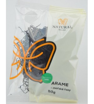 NATURAL JIHLAVA Mořské řasy Arame 50 g