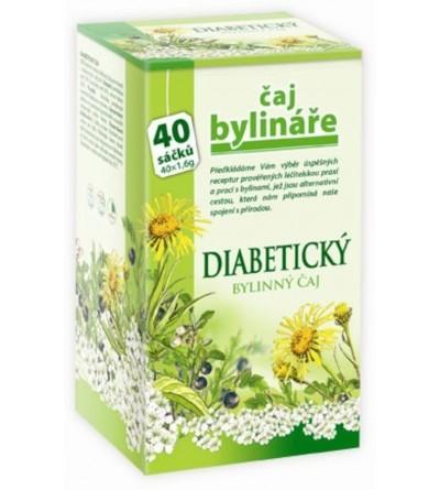 BYLINÁŘ Diabetický čaj 40 x 1,6 g