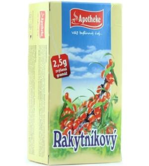 APOTHEKE Rakytníkový čaj 20 x 2,5 g