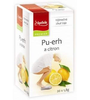 APOTHEKE Apotheke Pu-erh a citron 20 x 1,8 g
