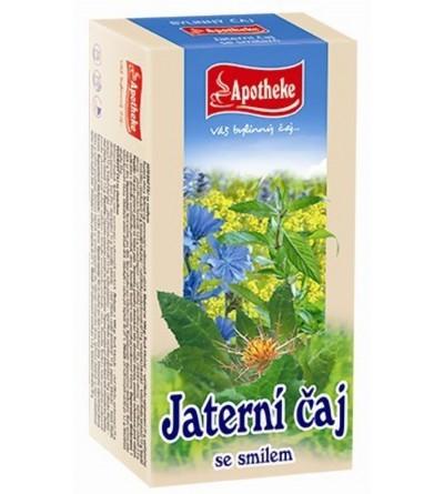 APOTHEKE Jaterní čaj 20 x 1,5 g