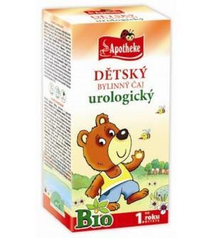 APOTHEKE Dětský čaj urologický BIO 20 x 1,5 g