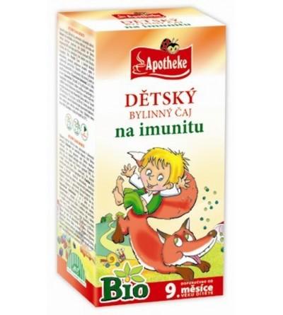 APOTHEKE Dětský čaj na imunitu BIO 20 x 1,5 g
