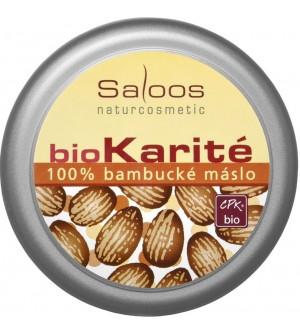 SALOOS Bio Karité 100% bambucké máslo 50 ml
