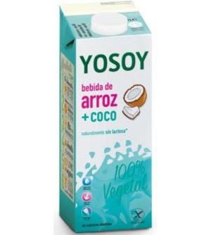 YOSOY Rýžový nápoj kokosový 1l