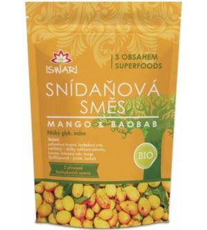 ISWARI Bio snídaňová směs mango-baobab 360 g