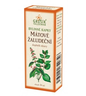 Grešík kapky Mátové žaludeční 50 ml