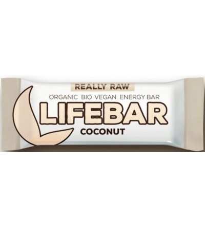 LIFEFOOD Bio tyčinka Lifebar kokosová 47 g