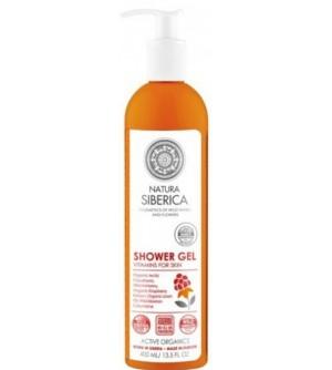 """NATURA SIBERICA Sprchový gel """"Vitamíny pro pleť"""" 400 ml"""