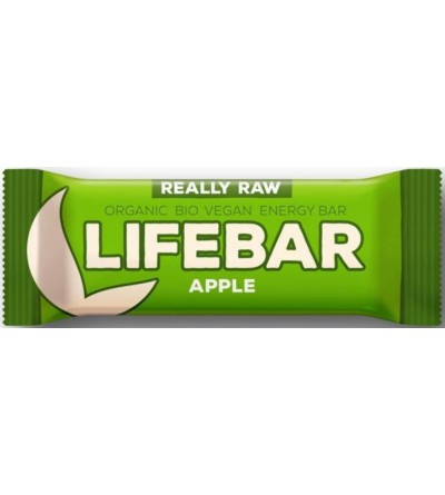 LIFEFOOD Bio tyčinka Lifebar jablečná 47 g