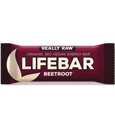 LIFEFOOD Bio tyčinka Lifebar červená řepa se slunečnicovými semínky 47 g