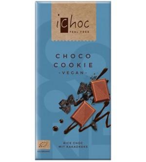 ICHOC Bio Rýžová čoko cookie 80 g