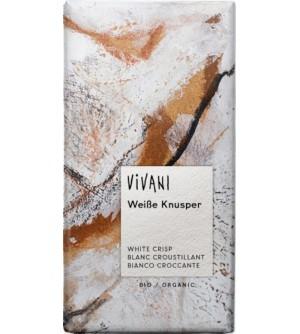 VIVANI Bio Bílá křupavá čokoláda 100 g