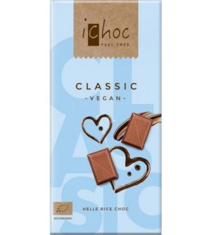 ICHOC Bio čokoláda classic 80 g
