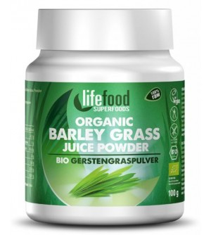 LIFEFOOD Bio Sušená šťáva z mladého ječmene 100 g