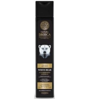 NATURA SIBERICA MEN Super osvěžující sprchový gel Lední medvěd 250 ml