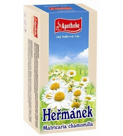 APOTHEKE Heřmánek čaj 20 x 1,5 g