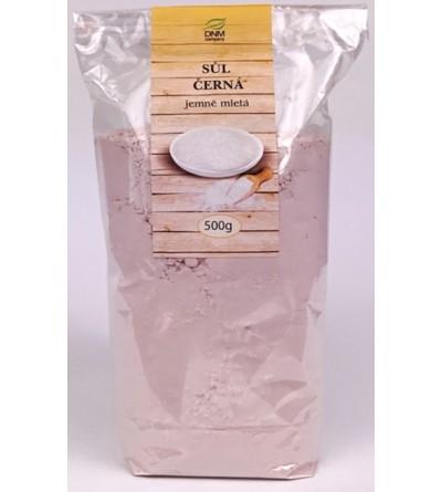 DNM Sůl černá jemně mletá 500 g