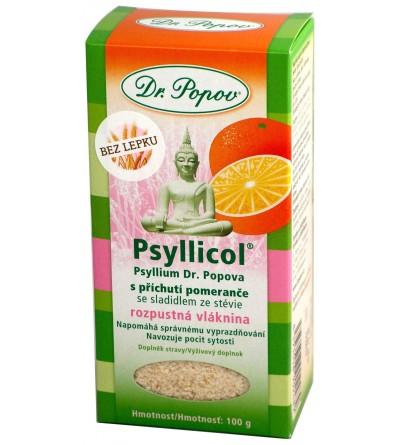 Psyllium pomeranc Popov 100g