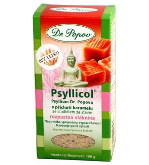 Dr. Popov Psyllicol® s příchutí karamelu 100 g