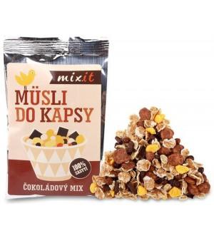 MIXIT Čokoládový mix müsli do kapsy 60 g