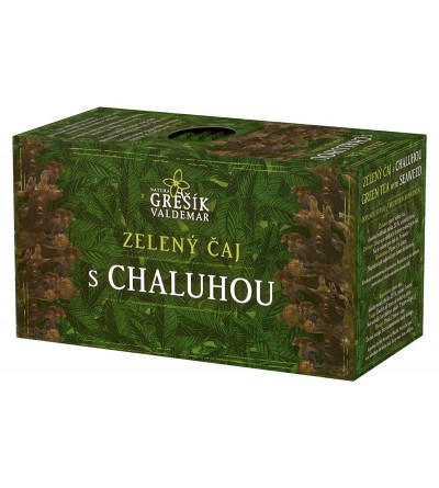 Grešík Zelený čaj s chaluhou 20 x 1,5 g