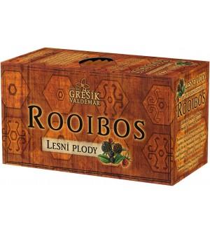 Grešík čaj Rooibos Lesní plody 20 x 1,5 g