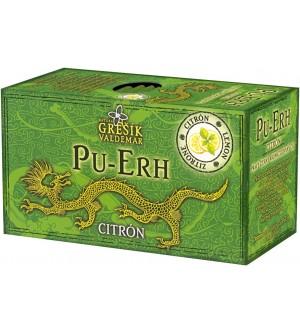 Grešík čaj Pu-Erh Citrón 20 x 1,7 g