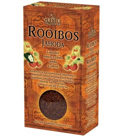 Grešík sypaný čaj Rooibos Jahoda 70 g
