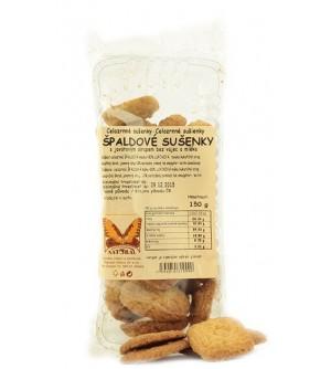 NATURAL JIHLAVA Špaldové sušenky celozrnné 150 g