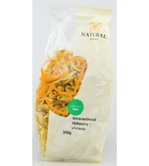 NATURAL JIHLAVA Amaranthové těstoviny vřetena 300 g