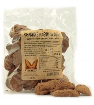 NATURAL JIHLAVA Pohankové bezlepkové sušenky se skořicí 150 g