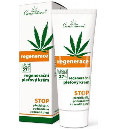 CANNADERM Regenerační pleťový krém 75 g