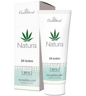 CANNADERM Natura 24 krém pro suchou a citlivou pleť 75 g