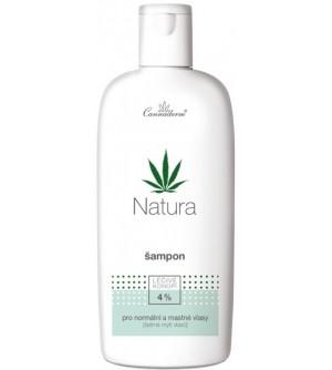 CANNADERM Natura šampon pro normální a mastné vlasy 200 ml
