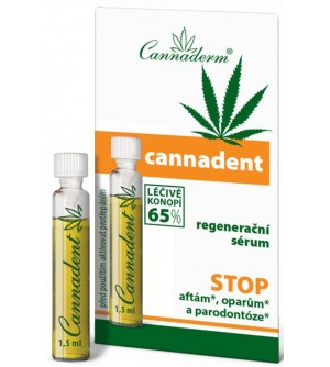 CANNADERM Cannadent regenerační sérum 1,5 ml