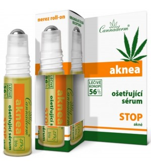 CANNADERM Aknea ošetřující sérum 5 ml