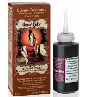 HENNÉ Color Tónovací přeliv tmavý kaštan 90 ml