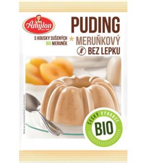 AMYLON BIO meruňkový puding bez lepku 40 g