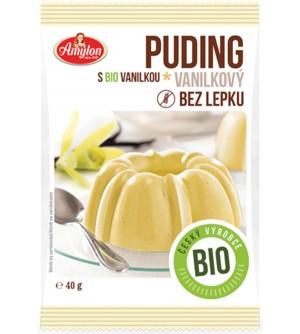 AMYLON BIO vanilkový puding bez lepku 40 g
