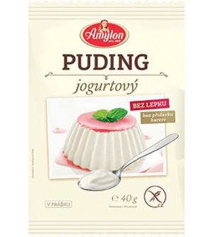 AMYLON jogurtový puding bez lepku 40 g