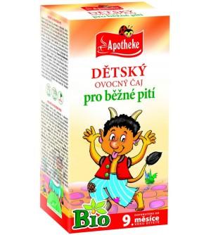 APOTHEKE Dětský čaj ovocný BIO 20 x 2 g