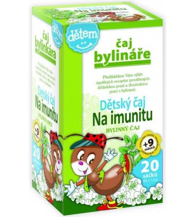 BYLINÁŘ Dětský čaj na imunitu 20 x 1,5 g