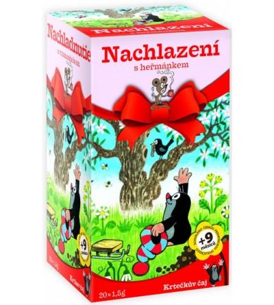 APOTHEKE Krtečkův čaj Nachlazení s heřmánkem 20 x 1,5 g